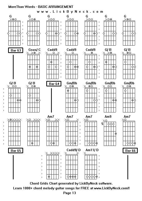 More Than Words Chords Tutorial Gallery - tutorial application form