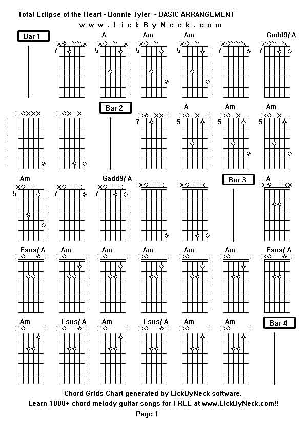 [G2R2014] -45 - Total Eclipse of the Sun Chords - Chordify