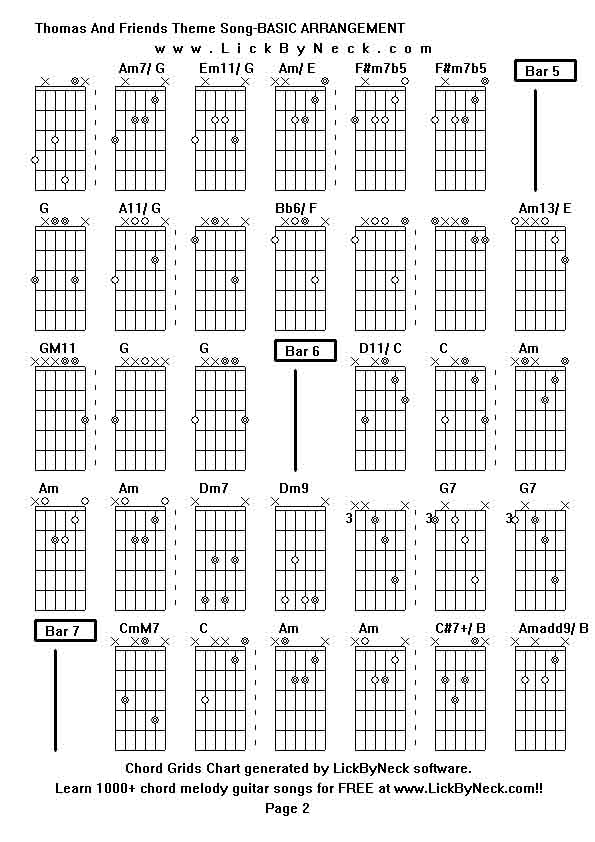 Bb6 Chord Gallery - piano chord chart with finger positions