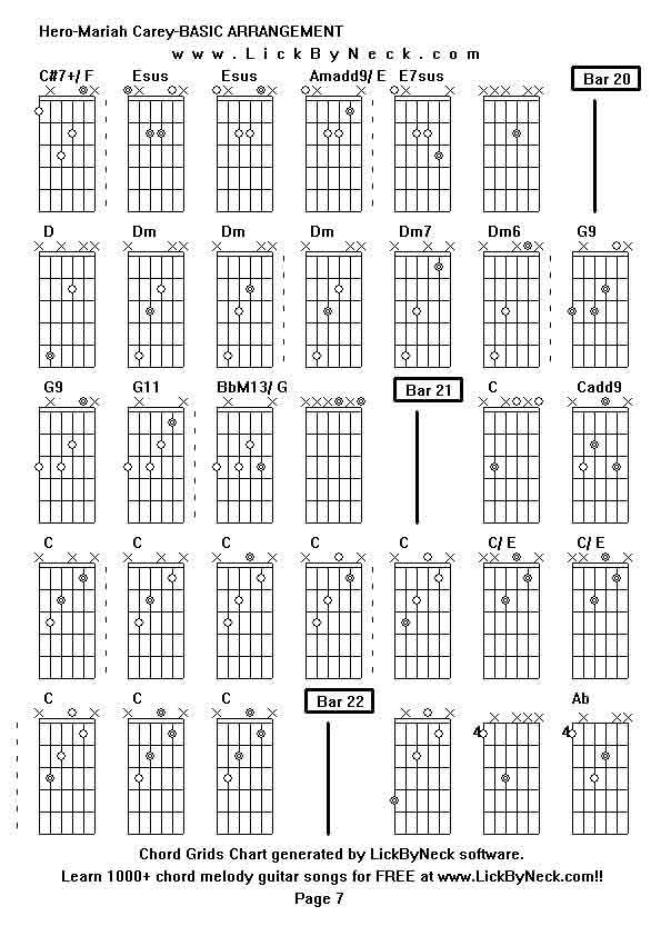 enrique hero guitar lesson Images - Frompo Mariah Carey Chords