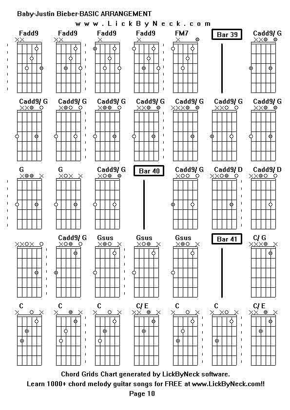 Download guitar chord chart