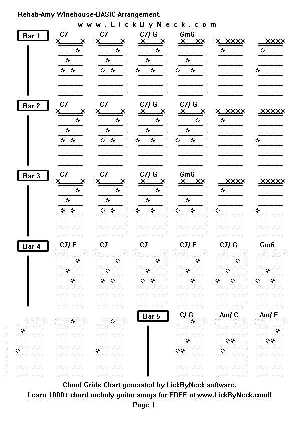 Amy Winehouse - Valerie (Chords) - Ultimate-Guitar.Com