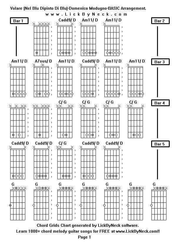As guitar chord