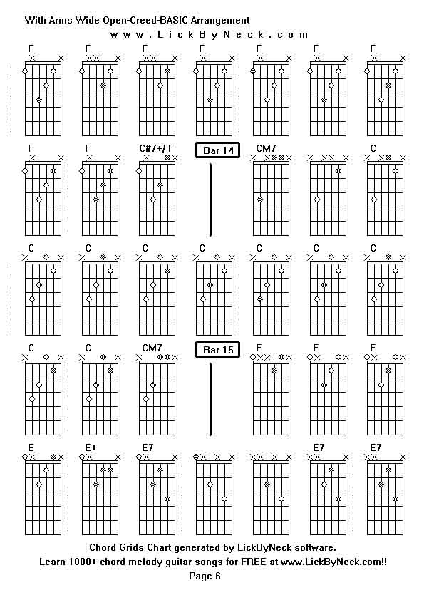 Beautiful Open Arms Guitar Chords Image Collection - Beginner Guitar ...