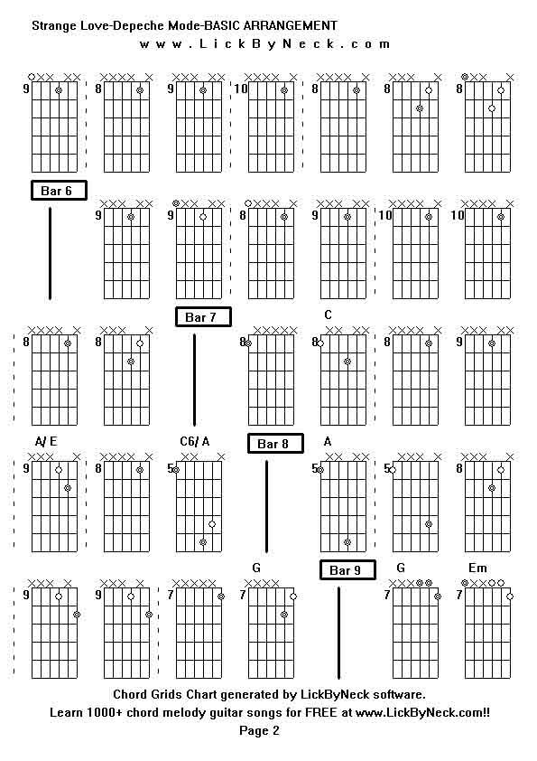 Unique Strange Guitar Chords Mold - Basic Guitar Chords For ...