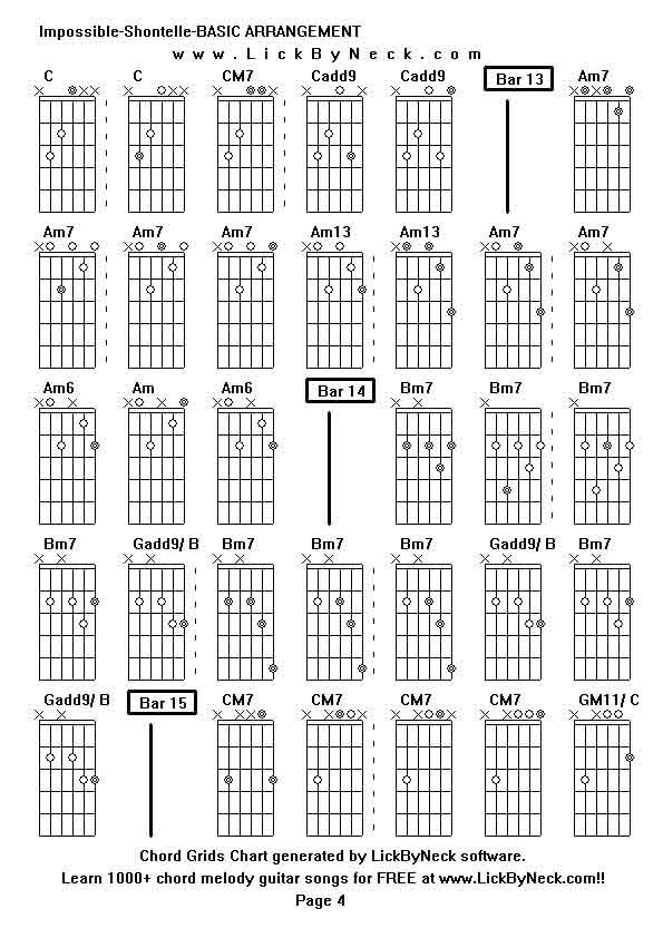 Shontelle Impossible Guitar