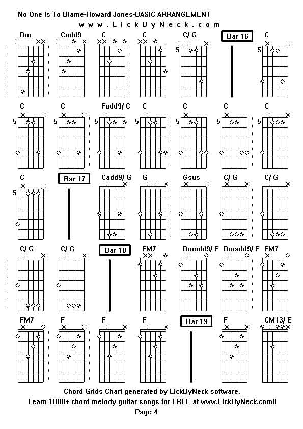 Lick By Neck - Learn Solo Chord Melody Fingerstyle Guitar - FREE Lessons